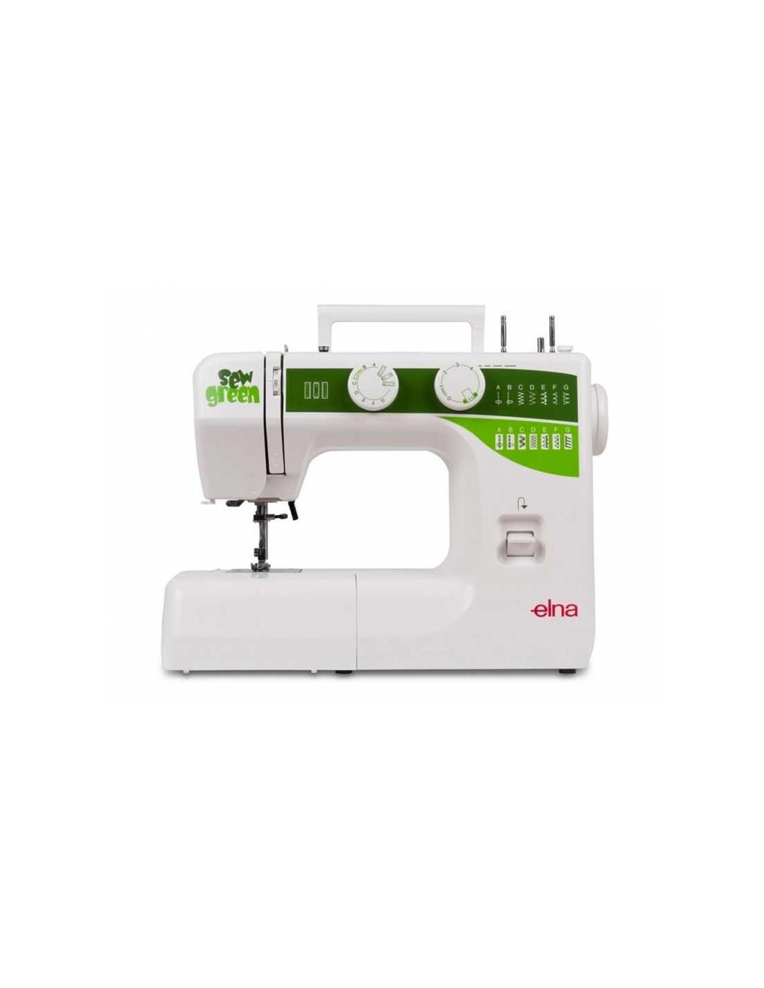 Maquina de coser Elna Sew Green 1000