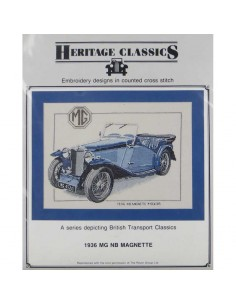 "Heritage Classics ""1936 Mg NB Magnette"""