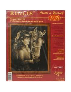"""Riolis """"Dama con caballo"""""""
