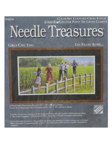 "Needle Treasures ""Girls Can Too"""