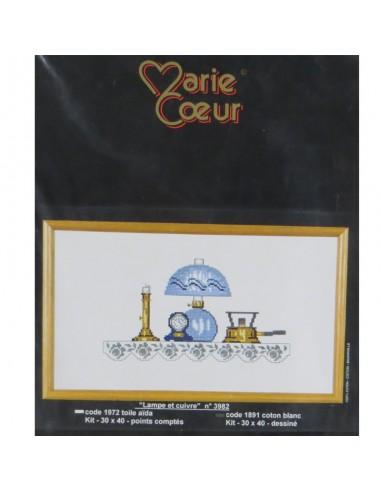 """Marie Coeur """"Lampara y cobre"""""""